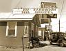"1937 Sandwich Shop & Gas Station, Ennis, TX Vintage Old Photo 8.5"" x 11"" Reprint"