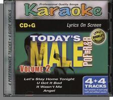 Karaoke CD+G - Today's Pop & R&B Male, Vol 2 - New 4 Song CD! U Got It Bad