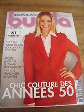 MAGAZINE BURDA CHIC COUTURE ANNEES 50 LE RETOUR DU DANDY     N°56  2004