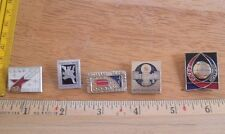Russian Soviet Space pin lot of 5 from large collection NO RESERVE! VINTAGE 3H