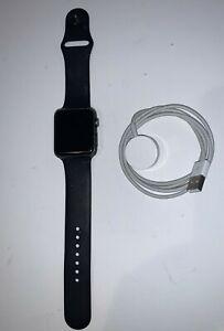 Apple Watch Series 1 42mm Space Gray Aluminum Case Case Sport Band Smart Watch