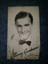 Benny Goodman 1940's-50's Mutoscope Music Corp of America Postcard