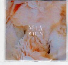 (EF338) M+A, When - 2013 DJ CD