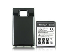 3500mAh Extended Battery + Case Cover For Samsung Galaxy S2 i9100 GT-i9100 New