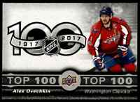 2017-18 Upper Deck Tim Hortons Top 100 Alex Ovechkin ! #3