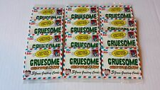 1992 Topps Gruesome Greeting Cards Unopened Pack Lot of 12