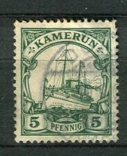 GERMAN COLONIES; TOGO 1905 Wmk. early yacht type used 5pf. value