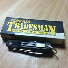 Schrade Tradesman Electrician Linerlock Screwdriver and Knife Blades TM2