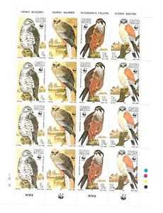 Malta( World Wide Fund for Nature ) A 1991 Sheets of 4 sets MNH