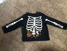The Childrens Place Long Sleeved Skeleton Shirt Size 12-18 Months