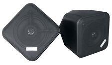 Pair PDWP5BK 5'' Weatherproof Indoor/ Outdoor 2-Way Multi-Mount Speaker Black