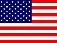 NEW 5 pk. American Replacement Flag ATV Bicycle Rhino UTV