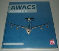 Vetter Boeing AWACS Boeing E-3 Bilder Daten Flugzeuge Technik Buch Neu!