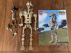LEGO STAR WARS TECHNIC BATTLE DROID - 8001