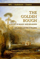 The Golden Bough by Sir James Frazer - MP3 CD Audiobook in DVD case