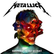 Hardwired...To Self-Destruct [LP] by Metallica (Vinyl, Nov-2016, 3 Discs, Blackened)