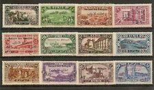 SYRIA 1926 AIR WAR REFUGEES FUND SG196/207 MNH