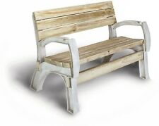 Custom Bench End Kit Outdoor Garden Chair Patio Loveseat DIY Yard Park Lawn Seat