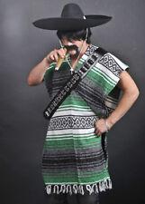 Green Mexican Gringo Poncho