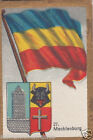 Deutschland Germany MECKLENBURG DRAPEAU FLAG IMAGE CARD 30s