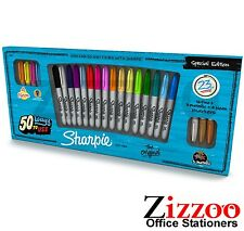 SHARPIE MARKER PERMANENTE SPECIALE EDT Pack-FINE POINT-Confezione da 23-assortiti