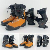 Nordica Mens Telemark Soft Boots Size 28 cm Fun Drive