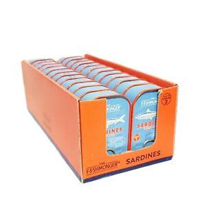 24 x 120g Tinned Sardines in Tomato Sauce  - The Fishmonger - Bulk