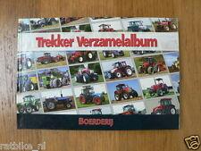 TREKKER VERZAMELALBUM TRACTOR WITH 72 STICKERS ZETOR,URSUS,STEYR,SAME,EICHER,FEN