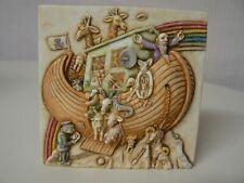 """Harmony Kingdom Noah's Park The Lost Ark Premiere Edition Tile Picturesque 4"""""""