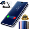 Flip Smart Case Fit For Samsung Galaxy Note 9 Leather S View Mirror Cover