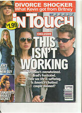 IN TOUCH JOLIE PITT BRITNEY SPEARS LARRY BIRKHEAD CRUISE COSTNER CELLULITE 2007