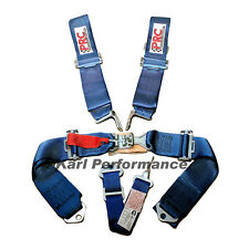 5 Point Harness Seat Belt SFI Certified Latch and Link Style BLUE - PRC 999212