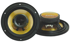 "Pyramid 652GS 6.25"" 200 Watt 4 Ohm Two-Way Car Audio Speakers Subwoofers (Pair)"