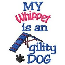 My Whippet is An Agility Dog Short-Sleeved Tee - Dc1834L