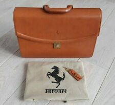 Vintage Ferrari Schedoni Leather Luggage Suitcase bag kofferTasche