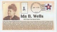 6° Cachets Pulitzer Prize 2020 Ida B. Wells Civil Rights Activist Journalist