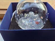 Swarovski Crystal 2015 3rd ANNUAL EDITION CHRISTMAS BALL ORNAMENT MIB (X-MAS)