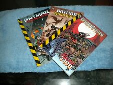Batman Cataclysm & Other Realms & No Man's Man ( volume 2) Tpb's