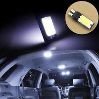 2PCS Car Auto T10 W5W 194 168 White LED 6W COB LED Side Lamp Wedge Light Bulb