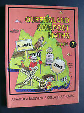Queensland Signpost Maths 7 by A. McSeveny, A. Parker (Paperback, 1994)