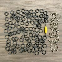 "20pcs Screws & 20pcs O-Rings Bands for 3.75"" GI Joe Cobra Custom Force Accessory"