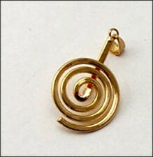 Gold-Plate Donut Bead Bail Large 25 x 40mm