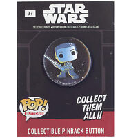 Funko Collectible Pinback Buttons - Star Wars Episode 7 - FINN (1.25 inch) - New