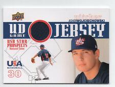 Asher Wojciechowski 2009 Upper Deck Team USA Star Prospects Piece of Authentic