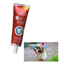 Sentry Petrodex Enzymatic Dog Toothpaste Formula for Dogs Plaque Control 6.2 oz