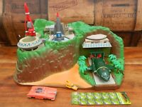 Thunderbirds Tracy Island Playset with Vehicles - Working- Vivid Sound Tech