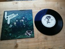 """Social Security I Don't Want My Heart To Rule My Head 7"""" EP Vinyl Record PULSE 1"""