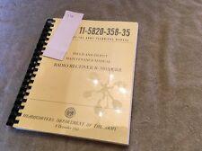 Reprint Radio Receiver R-390A/Urr R-390A Manual Boatanchor Lot14