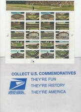 34c STAMPS 2000 BASEBALL'S LEGENDARY PLAYING FIELDS DON'T COLLECT THEM USE THEM