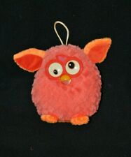 Peluche doudou Furby orange HASBRO 2013 Famosa yeux durs 15 cm TTBE